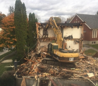 Nunnery Building demolition project in Bath, Maine
